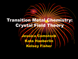 transition metals - Department of Chemistry | Oregon State University
