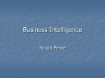 SQL Business Intelligence