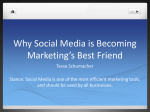 Why Social Media is Becoming Marketing`s Best Friend