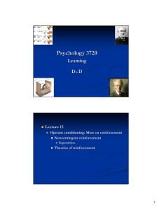 Psychology 3720 - U of L Class Index