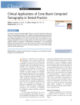 Clinical Applications of Cone-Beam Computed Tomography in