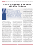 Clinical Management of the Patient with Atrial Fibrillation