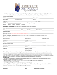 consent to proceed - Hobble Creek Dental Care