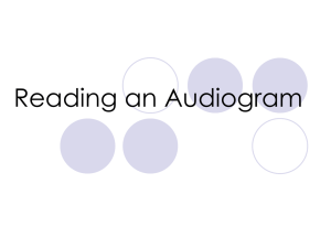 Audiogram Powerpoint