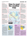How to read the weather map