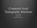 Computed Tomography Machines