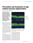 Prevention and treatment of age‐related macular degeneration