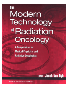 The Modern Technology of Radiation Oncology, Vol. 1