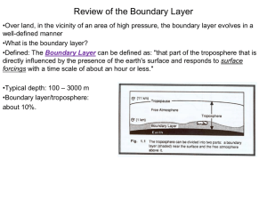Review of the Boundary Layer