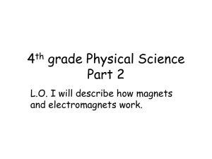 4th grade Physical Science Part 2