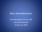 Basic Hemodynamics for the Cath Lab and ICU