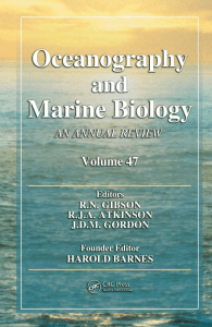 Oceanography and Marine Biology An Annual Review volume 47