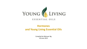Hormones and Young Living Essential Oils