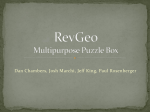 RevGeo: Multipurpose puzzle box