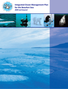 Integrated Ocean Management Plan for the Beaufort Sea: 2009