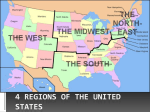 4 Regions of the United States