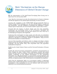 Male` Declaration on the Human Dimension of Global Climate Change