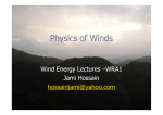 Physics behind winds
