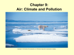 Climate and Air Pollution