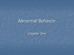 Abnormal Behavior