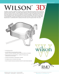 Wilson Brochure - Rocky Mountain Orthodontics