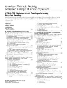 ATS/ACCP Statement on Cardiopulmonary Exercise Testing