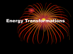 Energy Transformations - Imagine School at Lakewood Ranch