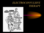 electroconvulsive therapy - Association for Academic Psychiatry
