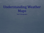 Understanding weather maps