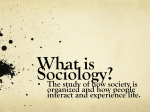 (Sociology theories are just different views about how society works