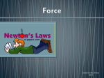 The Laws of Motion