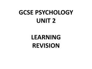 COMPLETE REVISION SUMMARY