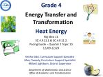 SC.4.P.11.1-11.2 - Energy Transfer and Transformation