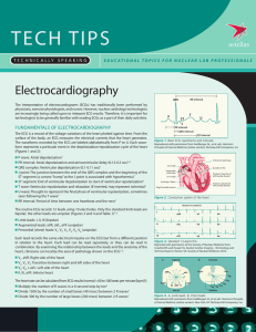 Electrocardiography - PharmStressTech.com