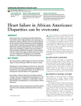 Heart failure in African Americans - Association of Black Cardiologists