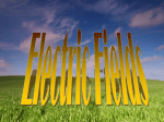 Electric Fields PPT