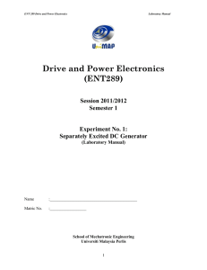 lab manual exp 1 drive n power