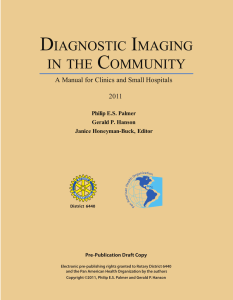 diagnostic imaging in the community