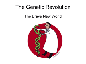 The Genetic Revolution