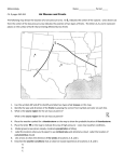 Meteorology Name Period _____ Ch. 9 pages 262