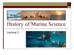 History of Marine Science 2