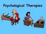 Chapter 17 Methods of Therapy