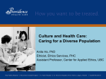 Culture Health Care (ppt lecture)