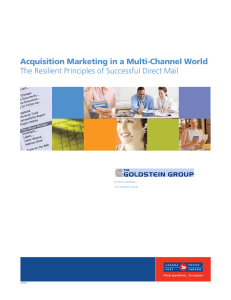 Acquisition Marketing in a Multi-Channel World