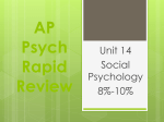 AP Psych Rapid Review