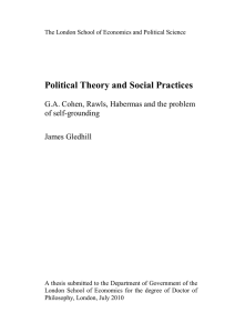 Political Theory and Social Practices