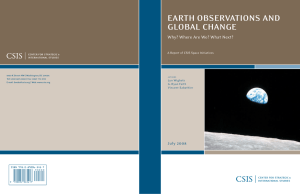 earth observations and global change