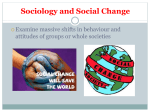 Sociology and Change