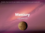 Mercury - Dimensional Facts