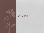 Climate - WordPress.com